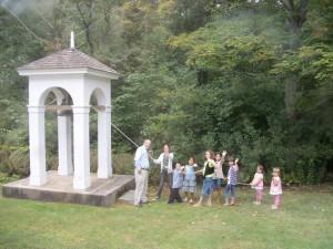 kids ringing bell 2010
