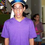 sam with bishops hat